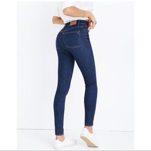 Madewell Curvy High Rise Skinny Lucille Jean 24